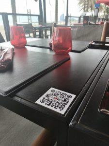 QR code Restaurant Menu