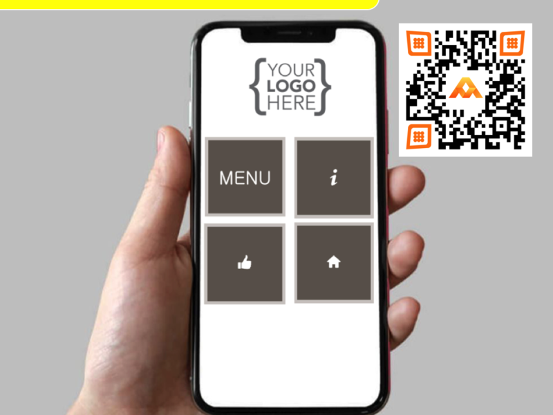 free Restaurant QR code menu #mastertaag