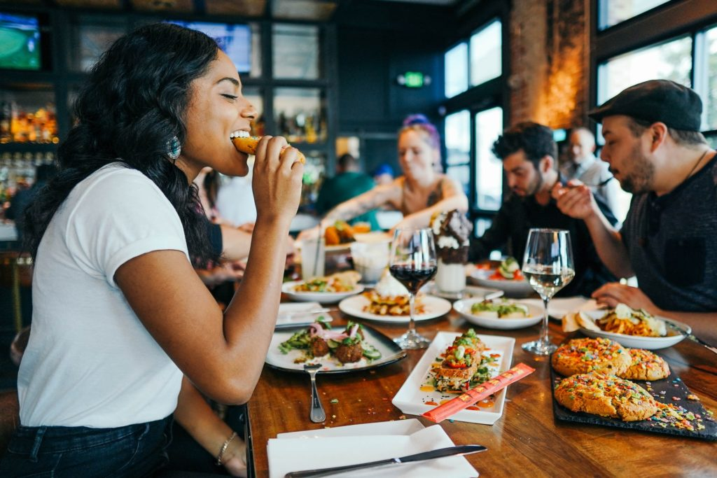 A happy customer is the ultimate goal of any restaurant