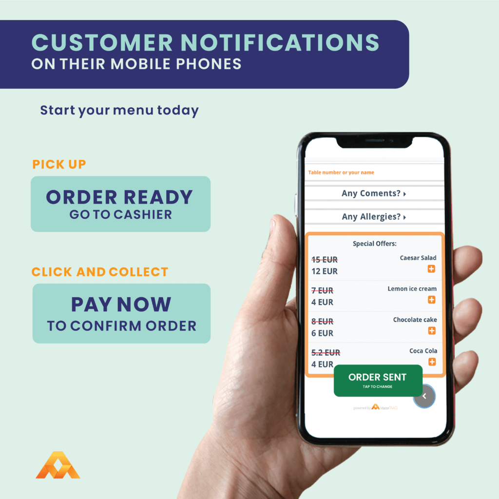 clickandcollect feature that comes with customer notifications